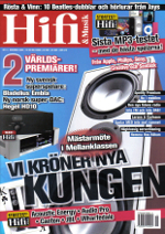 Live Mk 1 cable range receives excellent review by Hifi & Musik, one of Scandinavians most honourable high-end hi-fi magazines